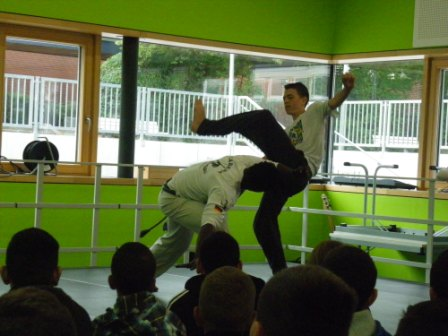 Auftritt Capoeira