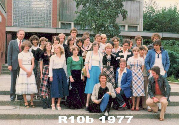 1977 Klasse R10b Herr Zieger