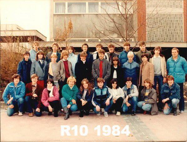 1984 Klasse R10 &  Herr Reichel