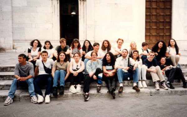 1997 Klasse R 10b & Herr Peuser